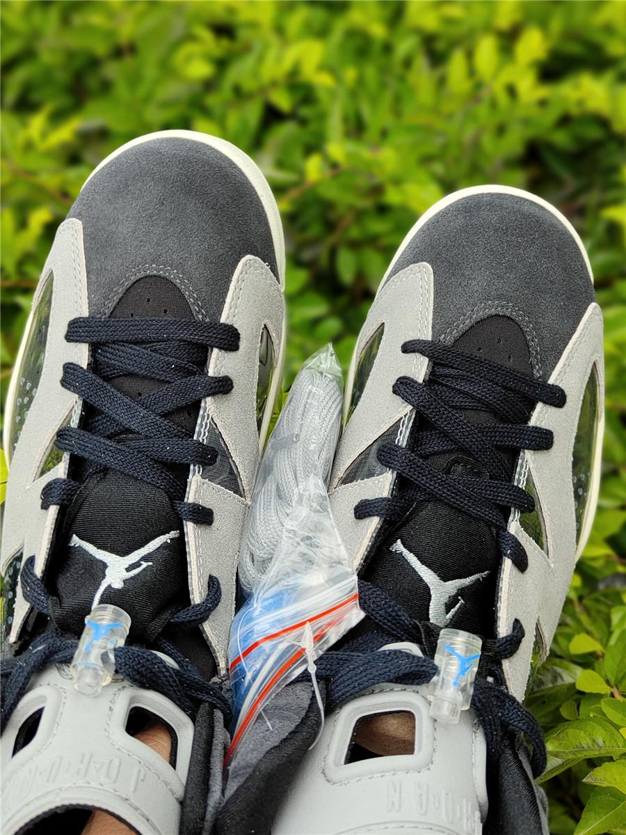 "Air Jordan 6 WMNS ""Smoke Gray"" 货号:CK6635-001_高质量莆田鞋去哪买"