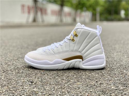 "AJ12白猫 猫头鹰 ovo Air Jordan 12 OVO ""White""873864-102 鞋码:41-47.5_莆田鞋在哪买靠谱"