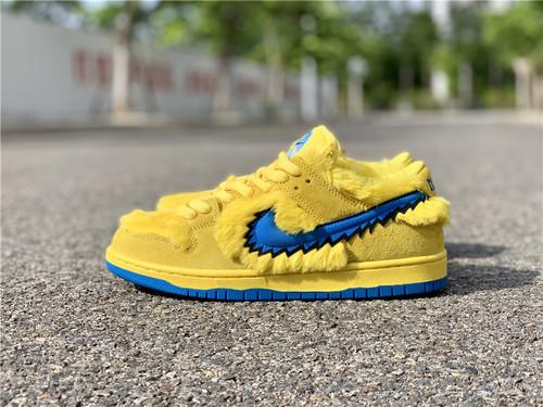 """Grateful Dead x Nike SB Dunk Low"""" Yellow Bear""""货号:CJ5378-700_东莞市厚街五金批发市场"""
