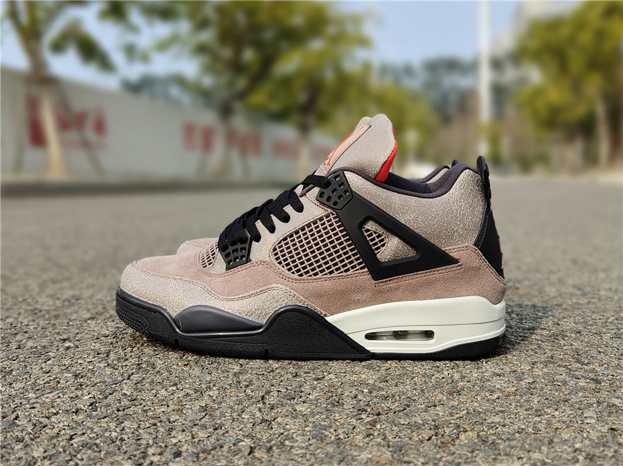 "Air Jordan 4 ""Taupe Haze""摩卡配色, 货号:DB0732-200,_aj顶级货什么意思"