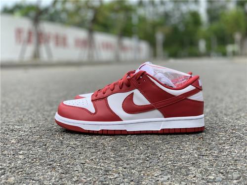 Nike Dunk Low'University Red'大学红 货号:CU1727-100_aj东莞货