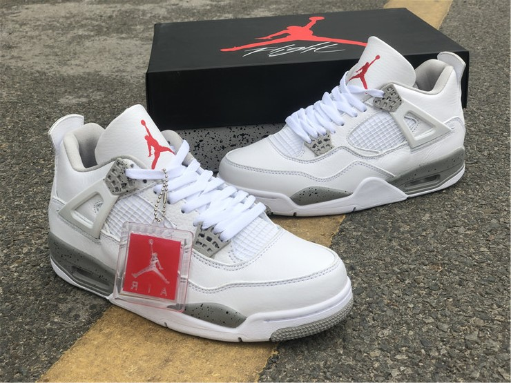 "Air Jordan 4 ""White Oreo"" 货号:CT8527-100,全码,40—46_北京国贸有aj店吗"