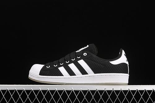 Ad Originals Superstar S82584 贝壳头编织透气休闲板鞋