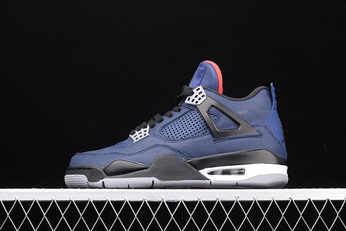 处理 Nike Air Jordan 4 Wntr Loyal BlueAJ4 乔4 小阿姆 原装全头层 CQ9597-401