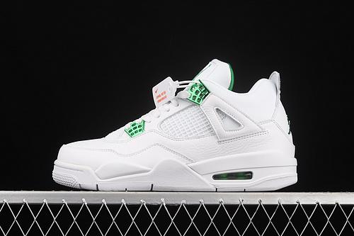 "J版 Air Jordan 4""Pine Green""AJ4 乔4白绿 头层 CT8527-113"