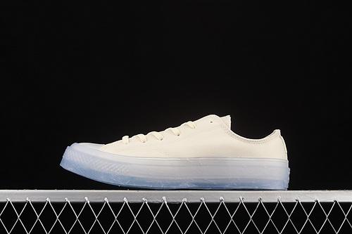 Converse Chuck Taylor All Star 1970s 环保系列透明果冻底低帮休闲帆布鞋 171305C