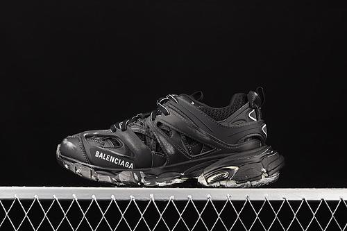 Balenciaga Sneaker Tess s.Gomma Res BI ALV/TIS EFF NUBUK/TIS E 巴黎世家2020最新配色潮流跑鞋 W3CN1000