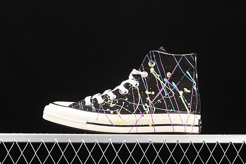 Converse Chuck 70s 水彩泼墨中国风高帮休闲板鞋 170801C