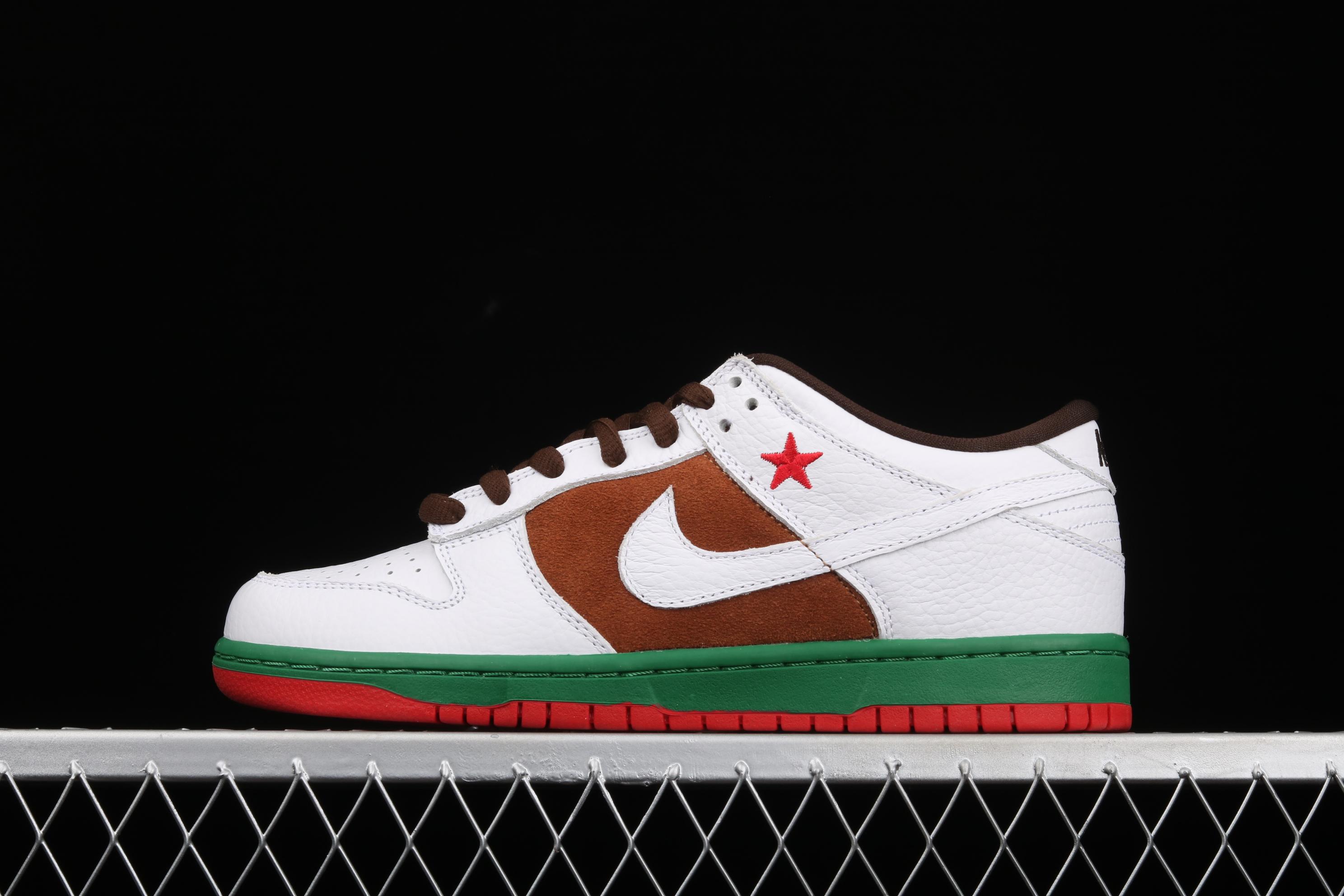 J版 Nk Dunk SB Low Call加州配色运动滑板鞋 304292-211