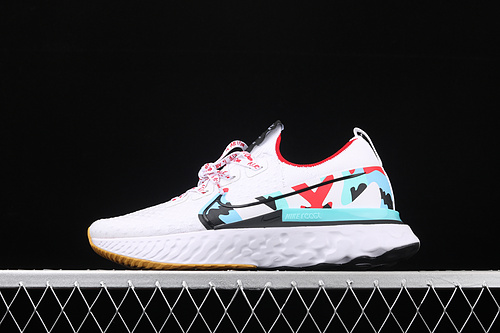 Nike Epic React Flyknit 瑞亚全新系列编织透气休闲运动跑步鞋 CD4372-100