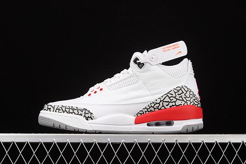 """G版 Air Jordan 3 Retro AJ3 乔3""""飓风""""""""卡特琳娜""""136064-116"""