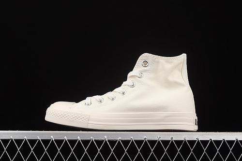 Converse All Star 匡威日系奶咖巧克力标高帮休闲板鞋 170128C