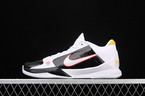 Nk Zoom Kobe 5 Bruce Lee 李小龙联名专业实战篮球鞋 CD4991-101