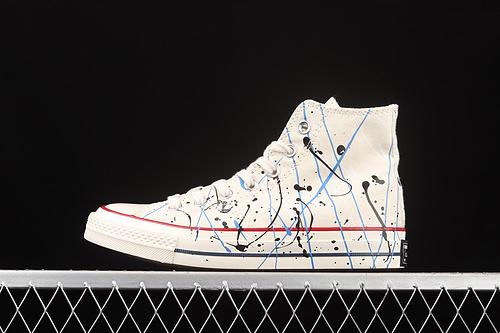 Converse Chuck 70s 水彩泼墨中国风高帮休闲板鞋 170802C