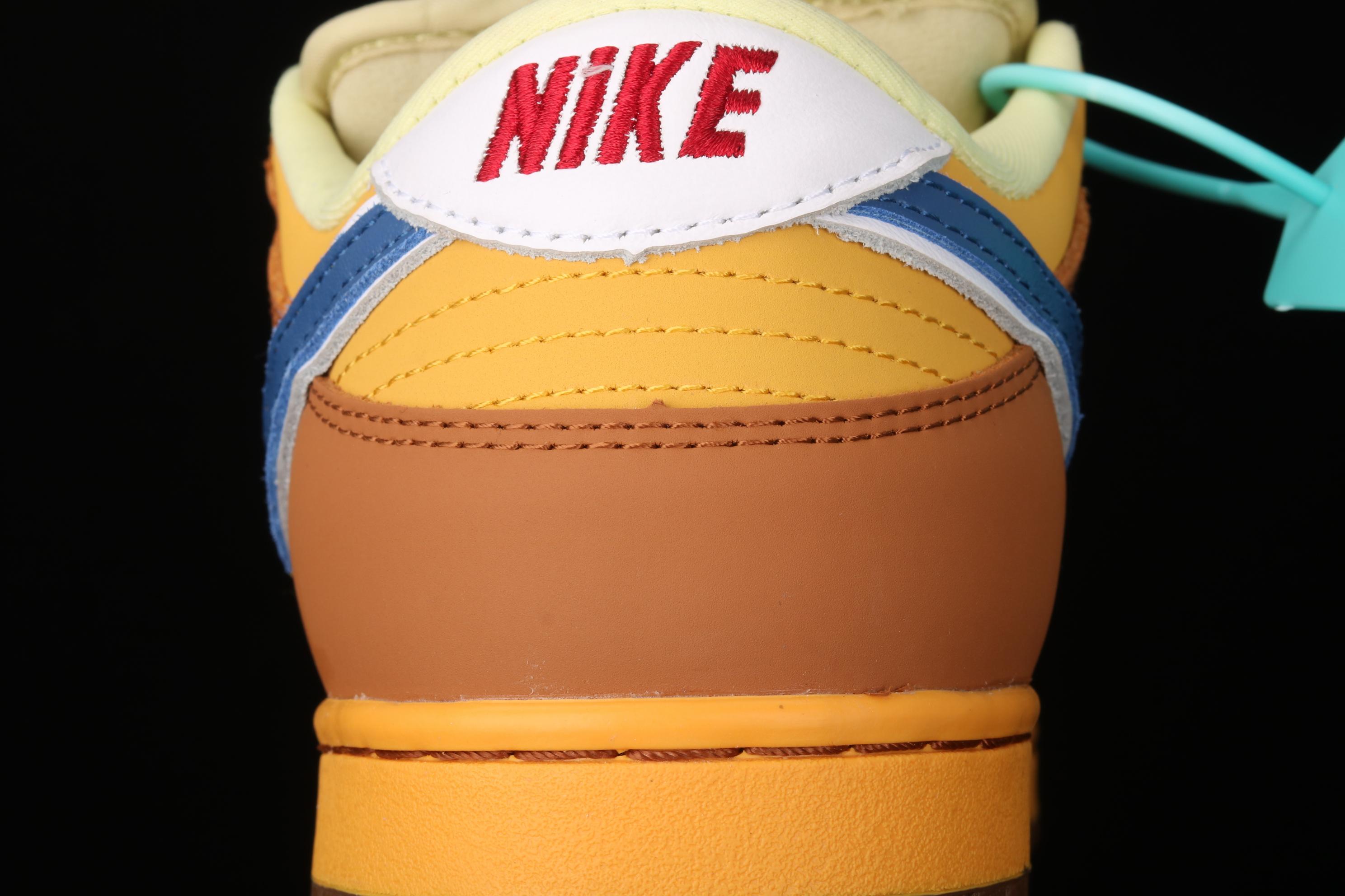 """J版 Nike Dunk Low Newcastle Brown AleTS上脚同款 """"黄啤""""超配色 纽斯卡尔 低帮滑板鞋 313170-741"""