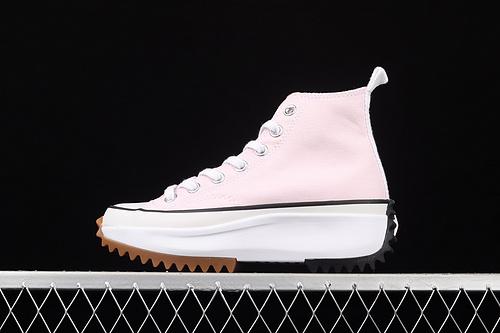 Converse Run Star Hike 三色拼接厚底鞋帆布鞋 170968C