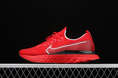 Nike Epic React Flyknit 瑞亚全新系列编织透气休闲运动跑步鞋 CD4371-600