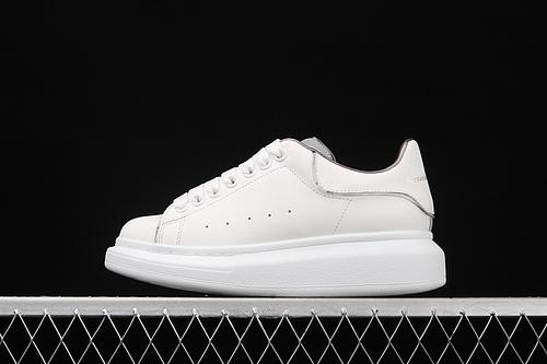 Alexander McQueen Sole Sneakers 2021新款 荧光灯反光小白鞋