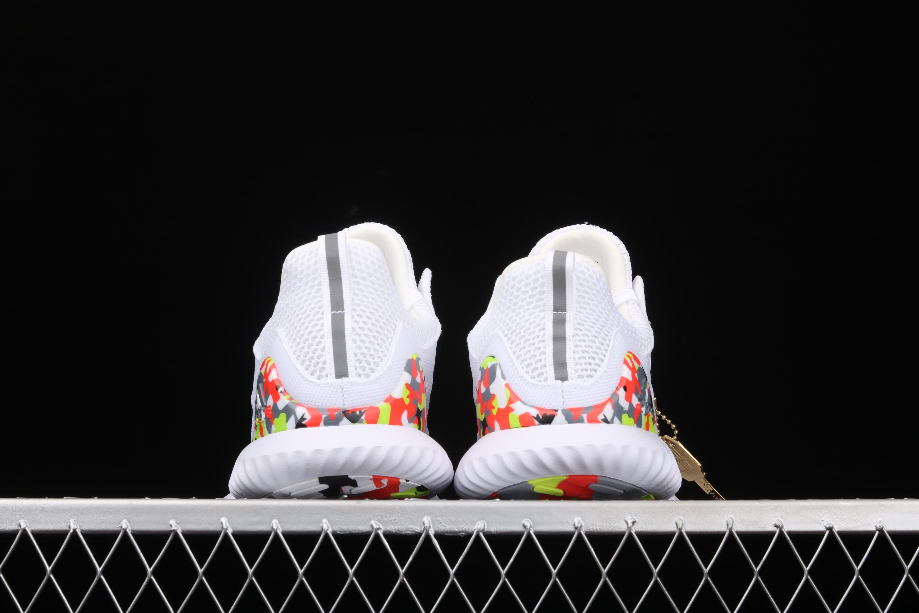 AlphaBounce Beyond M B89097 阿尔法网面休闲跑步鞋