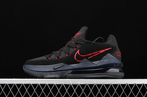 Nk LeBron 17 詹姆斯17代低帮 黑红首发配色 专业实战篮球鞋 CD5006-001