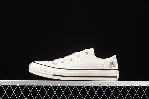 Converse Chuck 70 刺绣星空低帮休闲板鞋 572426C