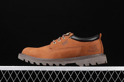 CAT 卡特官网新款 英伦复古工装休闲低帮男靴 P717802