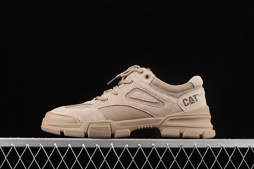 CAT FOOTWEAR/ CAT 卡特21SS秋季新款复古潮鞋系列休闲板鞋 P721026沙色
