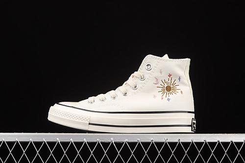 Converse Chuck 70 刺绣星空高帮休闲板鞋 572431C