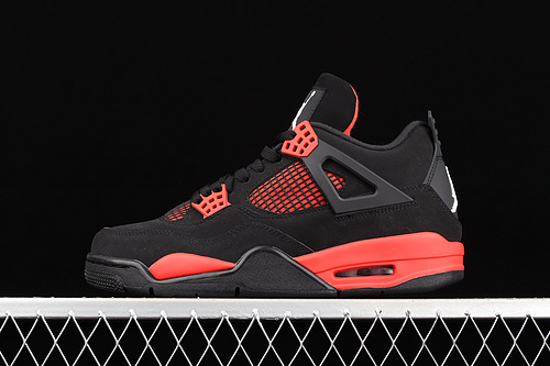 L版 Air Jordan 4 Retro SE University BlueAJ4 乔4新黑红 复古休闲运动文化篮球鞋 CT8527-016