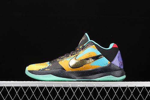 纯原版本 Nk Zoom Kobe 5 Protro 科比5 大师之路 低帮运动篮球鞋 639691-700