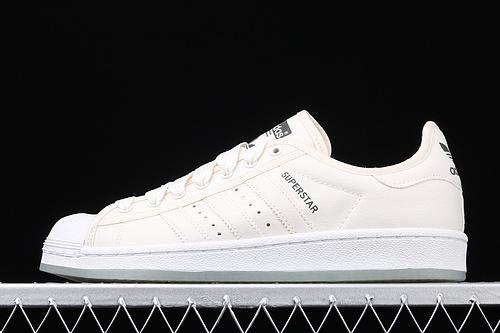 款 Ad Superstar S82586 贝壳头帆布休闲板鞋