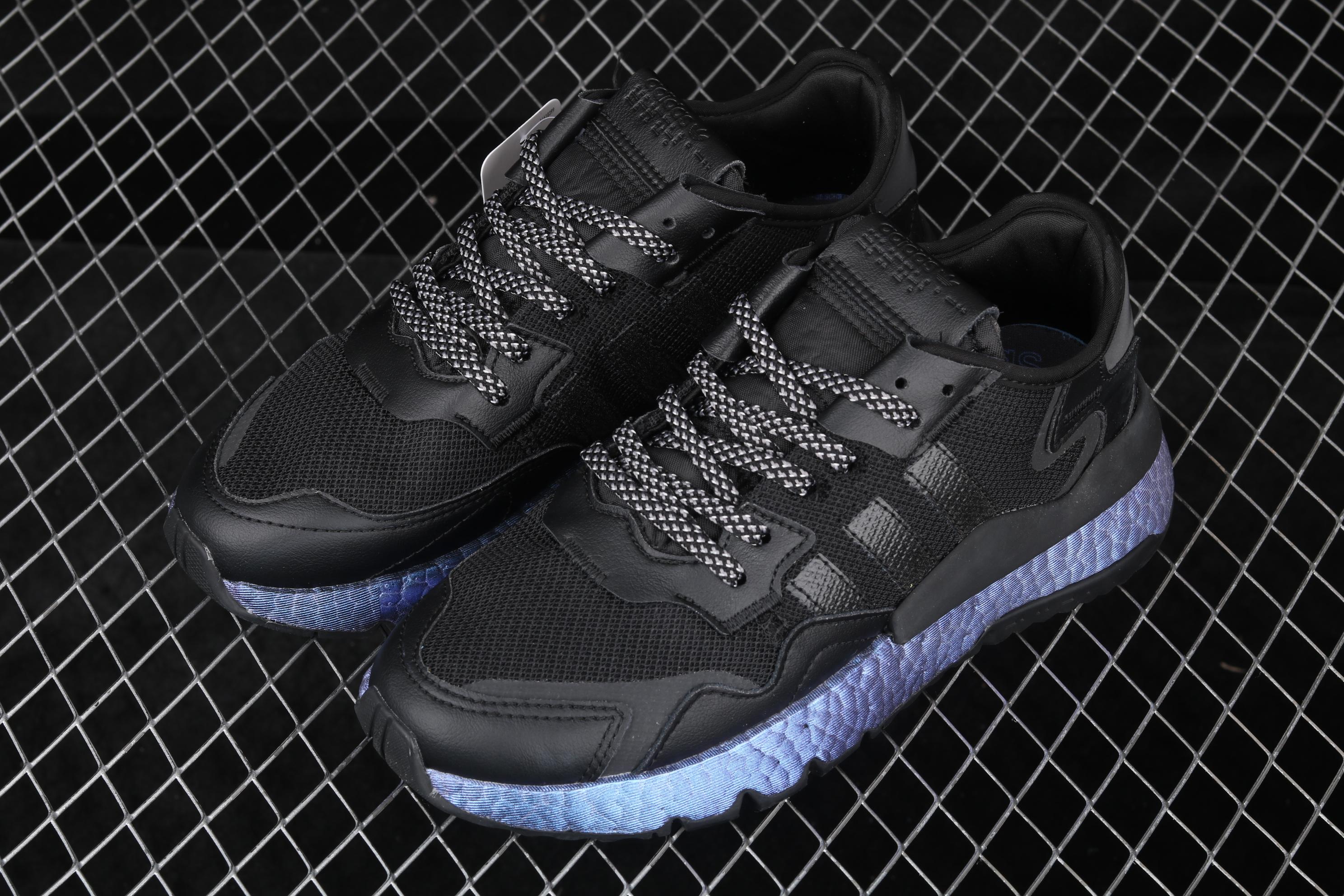 Ad Nite Jogger 2019 Boost FV3615 3M反光复古跑鞋