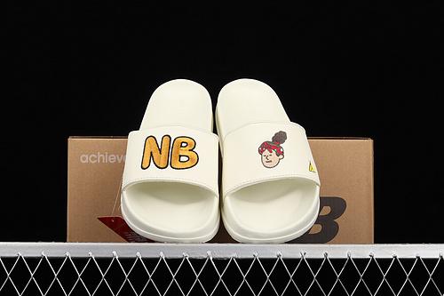 Jeon Hwangi x New Balance 联名韩国插画师系列夏季休闲百搭运动潮流拖鞋 SD1101JHW-270