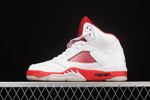 G版 Air Jordan 5 What TheAJ5 乔5白红情人节 440892-106