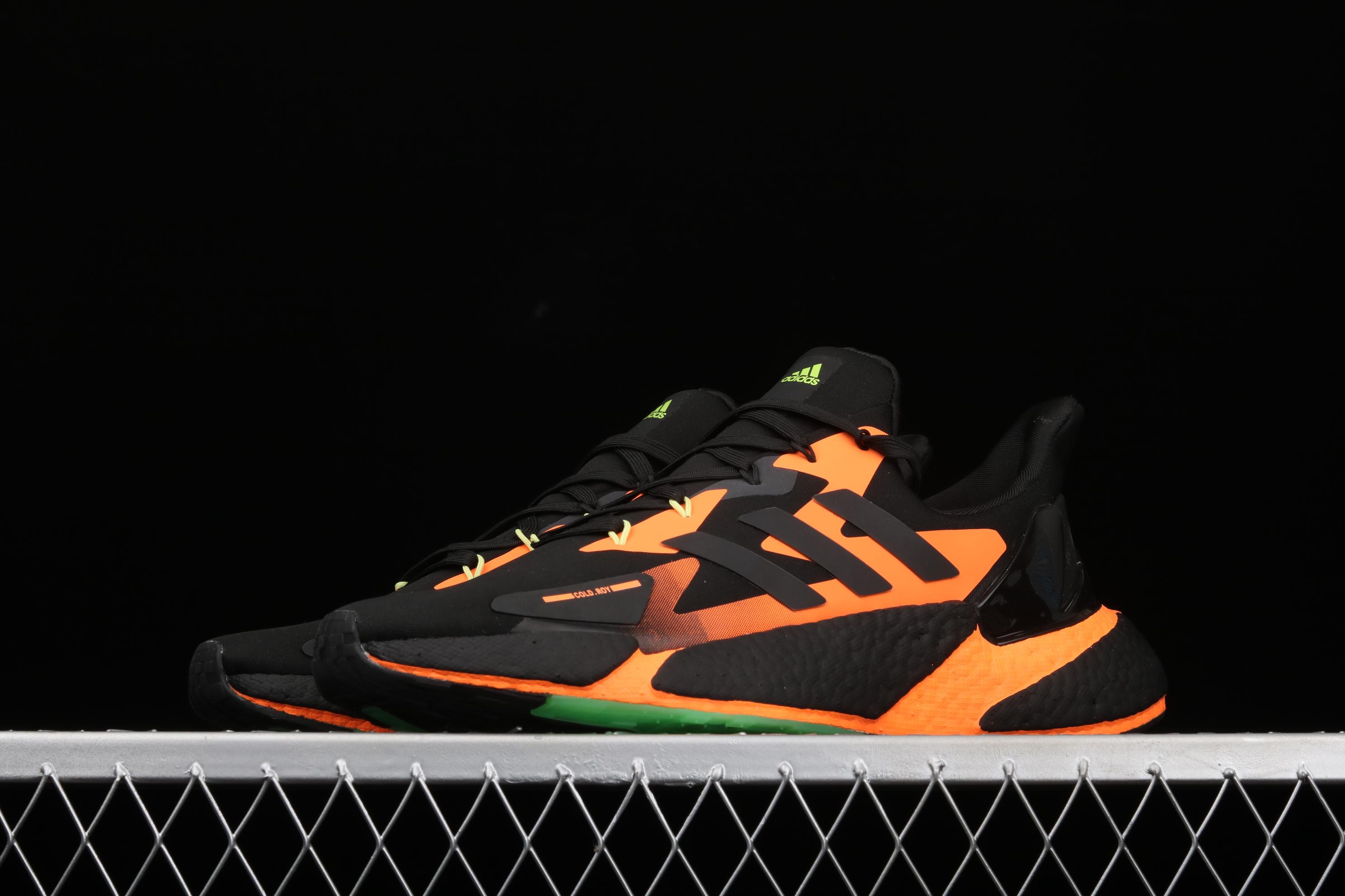 Ad X9000L4 Boost G54885 阿迪新款复古爆米花跑鞋
