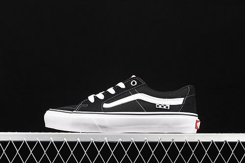 Vans Sk8-Low 经典黑白低帮休闲滑板鞋 VN0A5FCFY28