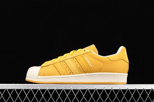 款 Ad Originals Superstar BD8067 贝壳头帆布透气休闲板鞋