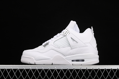 """款 Air Jordan4 Retro""""PureMoney""""AJ4 乔4白猫 头层真标 308497-100"""
