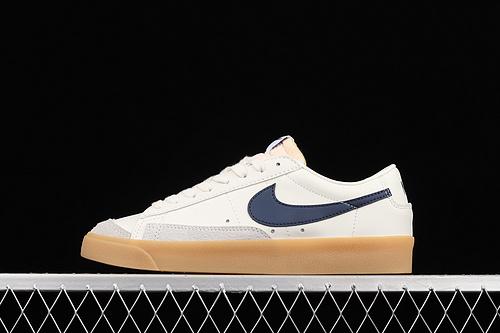 Nk Blazer Low '77 Vintage 开拓者皮面低帮休闲板鞋 DM8334-100