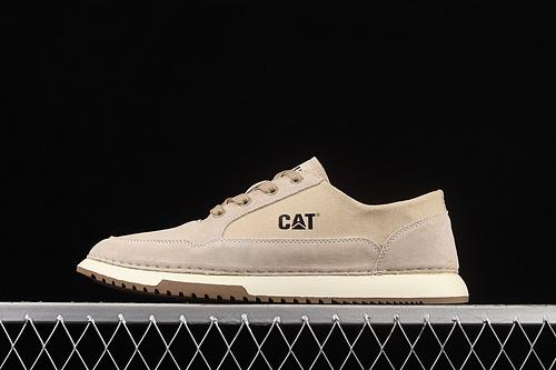 CAT FOOTWEAR/ CAT 卡特21SS秋季新款复古潮鞋系列休闲板鞋 P720536米白