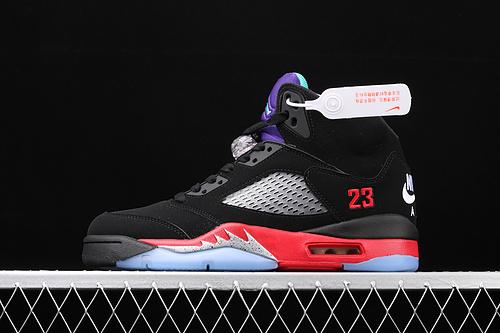 Air Jordan 5 ''Top 3'' AJ5 乔5葡萄紫黑红 CZ1786-001