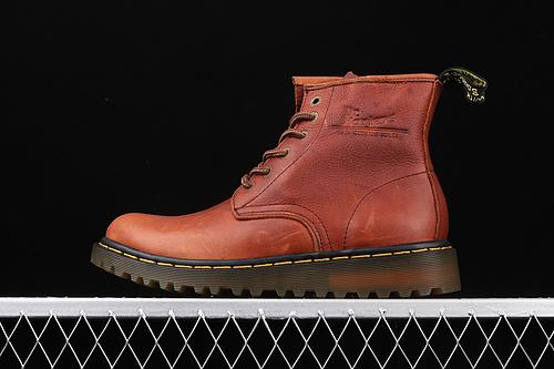 Dr.martens 马丁靴 11028系列 工厂正品订单 六孔高帮 软皮拉链