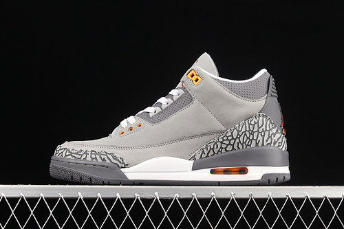 "#ZG版本 Air Jordan 3 Retro""Cool Grey""AJ3 乔3酷灰 篮球鞋 CT8532-012"
