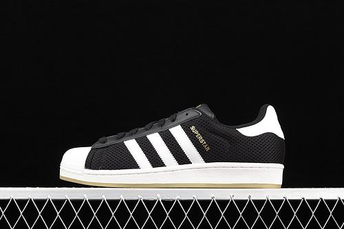 款 Ad Originals Superstar S82575 贝壳头帆布透气休闲板鞋