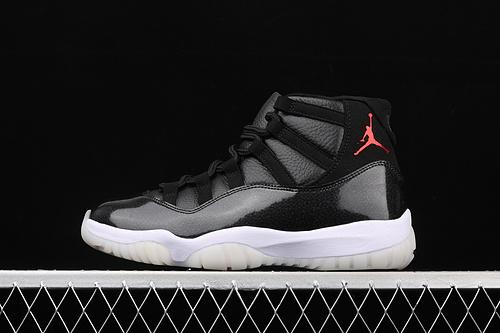 """X版 Air Jordan 11""""72-10""""AJ11 乔11大魔王 篮球鞋 378037-002 头层真标真碳"""