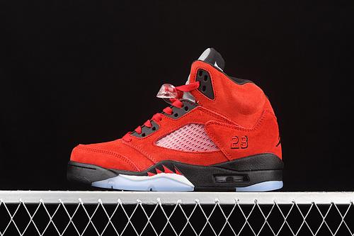 """G版 Air Jordan 5""""Raging Bull""""AJ5 乔5大红公牛 DD0587-600"""