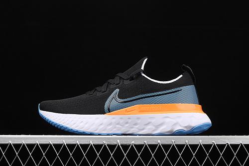公司级 Nike Epic React Flyknit 瑞亚全新系列编织透气休闲运动跑步鞋 CD4371-007