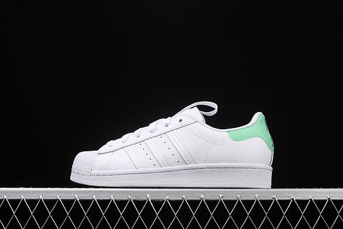 处理 Ad Superstar FW2850 贝壳头广州城市限定经典百搭小白鞋