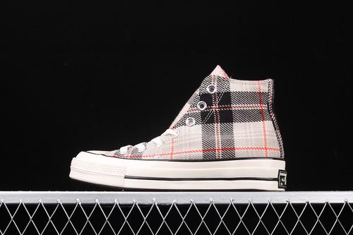 Converse 70s Plaid 苏格兰格子 清新复古风休闲板鞋 166495C