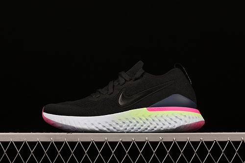 处理 #ZG版本 Nike Epic React Flyknit 2 泡沫颗粒编织超轻缓震跑步鞋 BQ8928-003